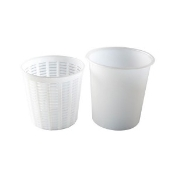 Ricotta Container and Basket, Large