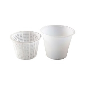 Ricotta Container and Basket, Small