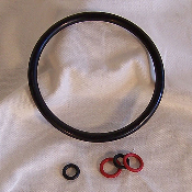 Complete Gasket Set for Ball Lock Kegs, 5 pc