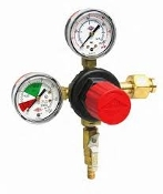 Cornelius CO2 Regulator Dual Gauge