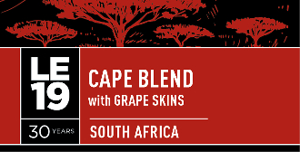 Limited Edition 5 Cape Blend with grape skins, South Africa